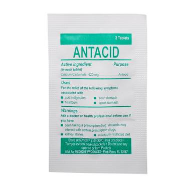 Antacid Tablet Packet Each | MFASCO Health & Safety