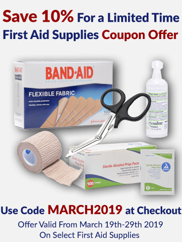 coupons for first aid supplies