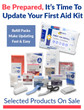 Refill & Restock Your First Aid Supplies