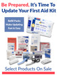 Refill Your First Aid Kit Promotion
