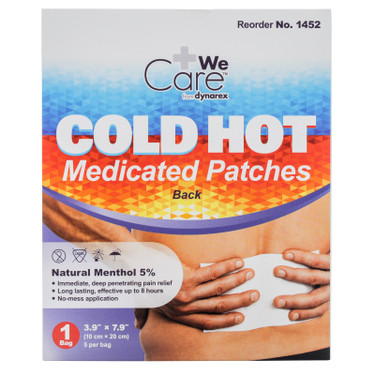 Cold Hot Medicated Patches | MFASCO Health & Safety