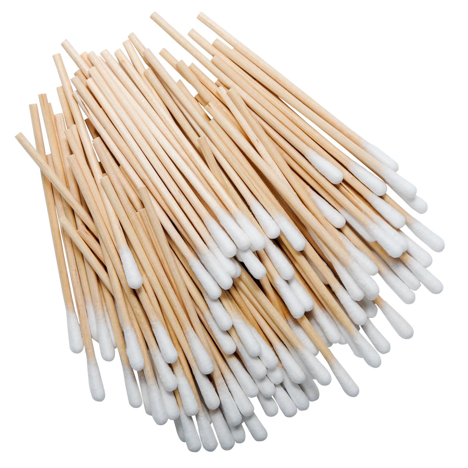 Cotton Wood Cotton Tip Applicators 3~ 100/pkg