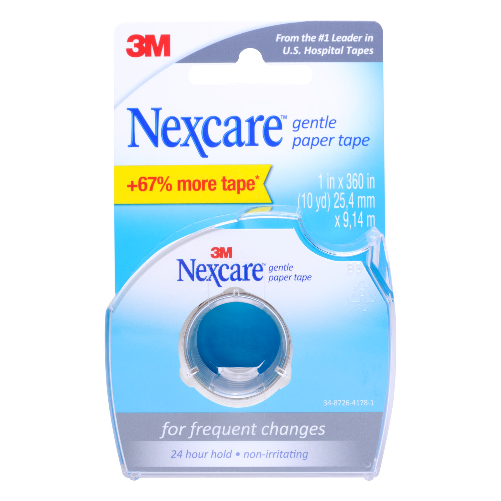 3M Nexcare First Aid Tape Paper Tape Dispenser 3 4 InchFirst Aid Adhesive Tape