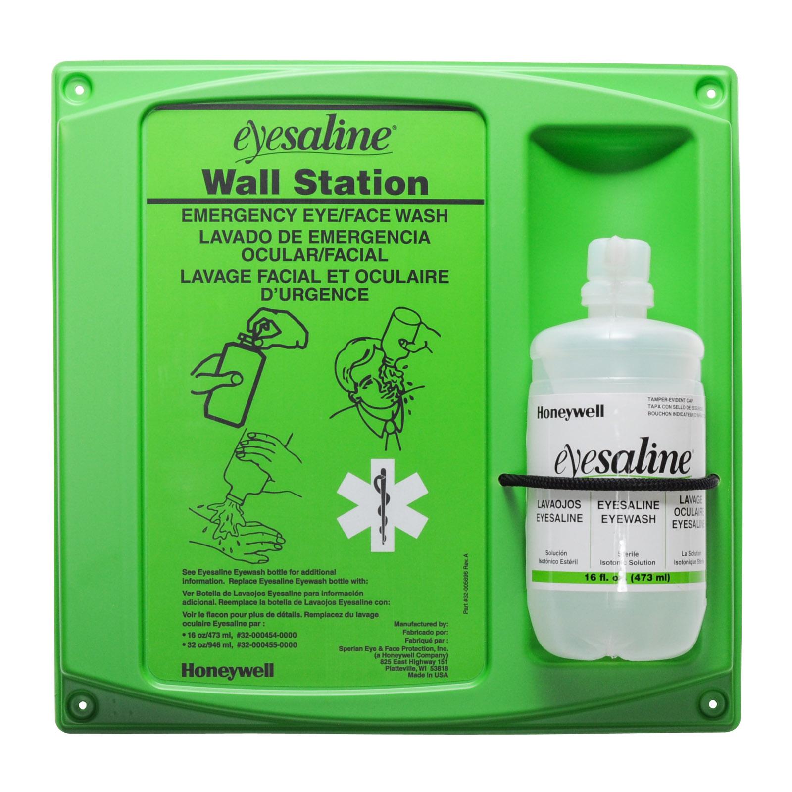 Eyesaline Eye Wash Station 16 Oz   MFASCO Health & Safety