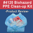 #4120 Biohazard Personal Protection Kit - Video Review