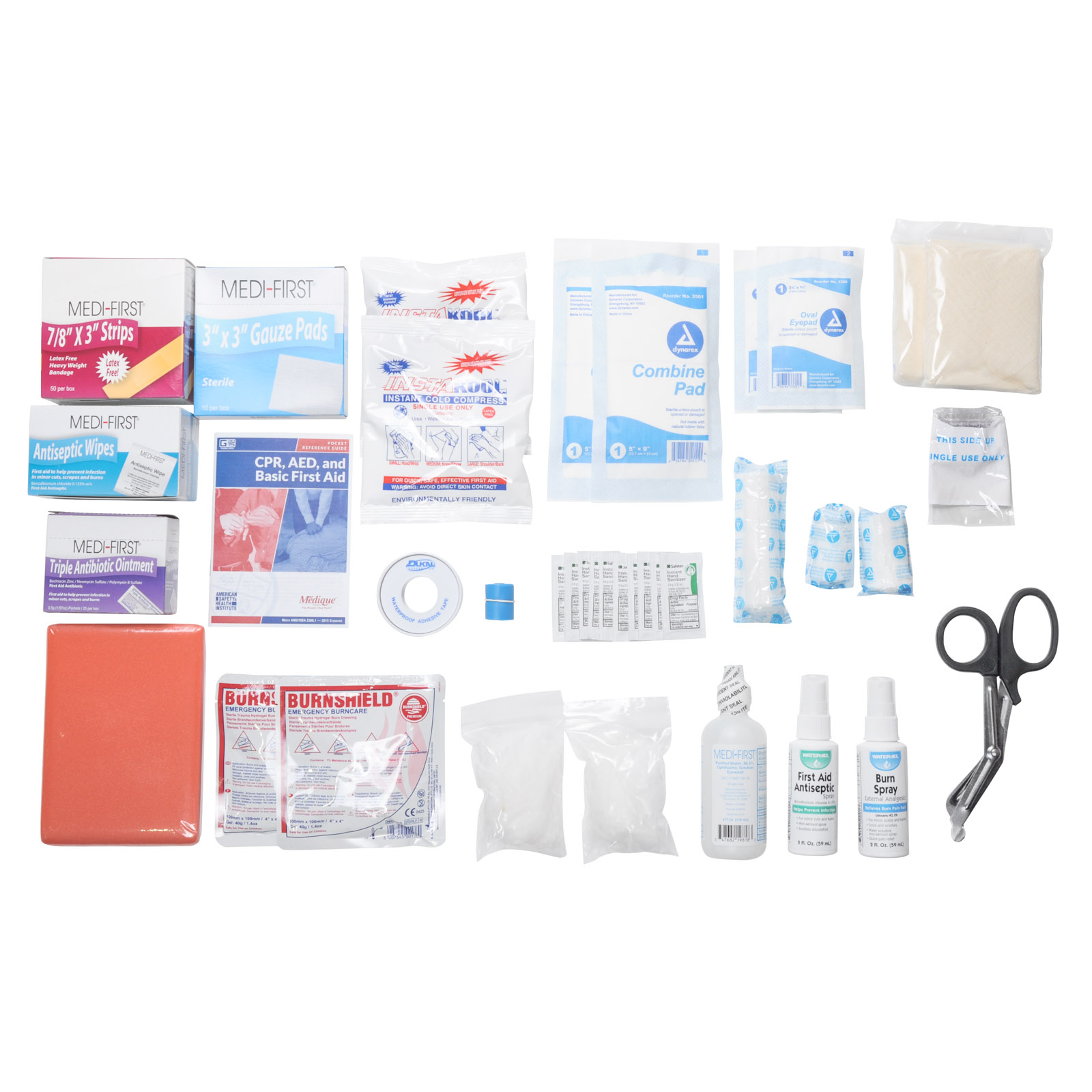 Osha Class B First Aid Kit Refill Pack | MFASCO Health & Safety