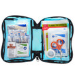 First Aid Kit 70 Piece Blue Transparent MFASCO