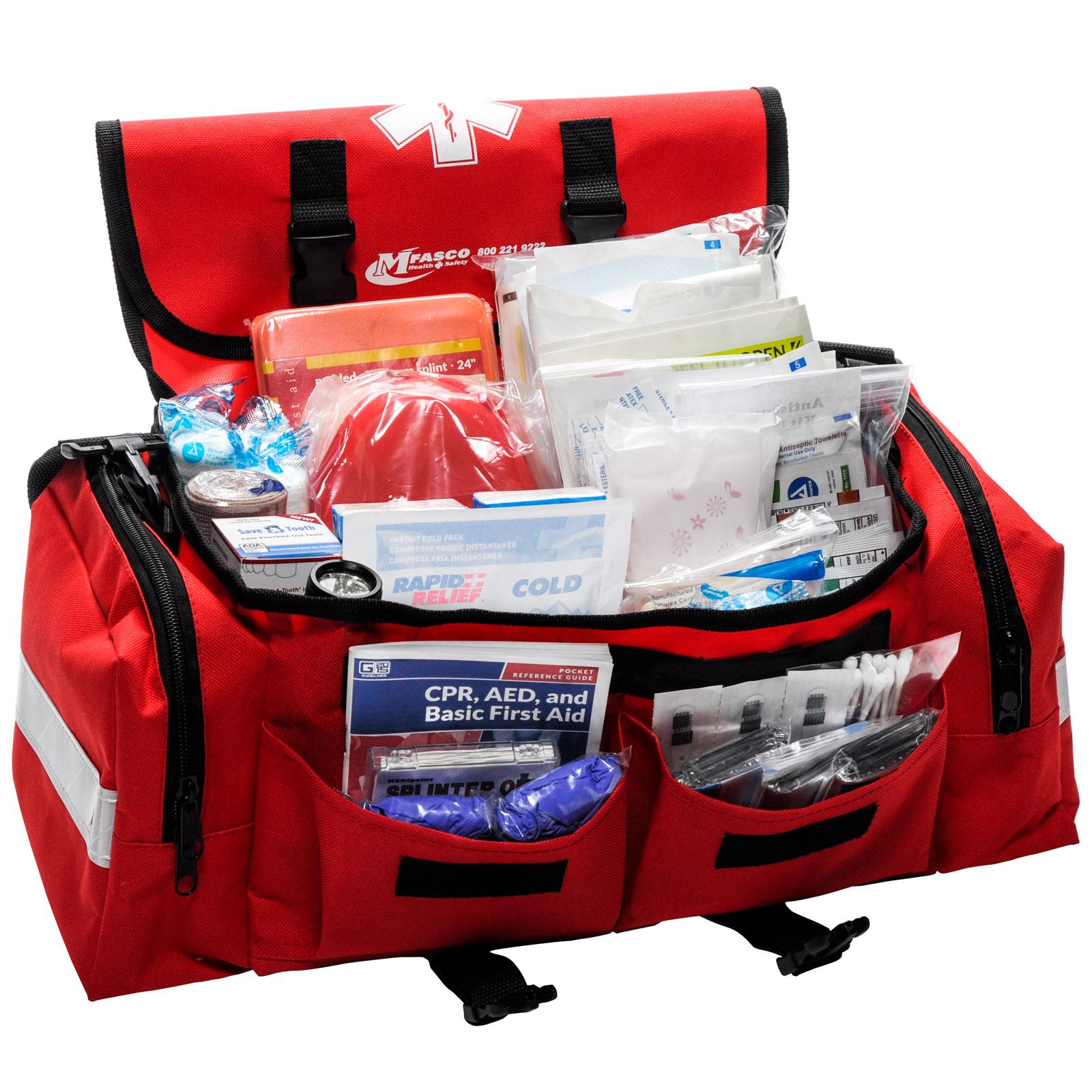 School Emergency First Aid Bag 200 Pieces