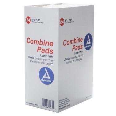 Combine ABD Pad Dressing 8x10