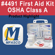 Class A first aid kit complete - video