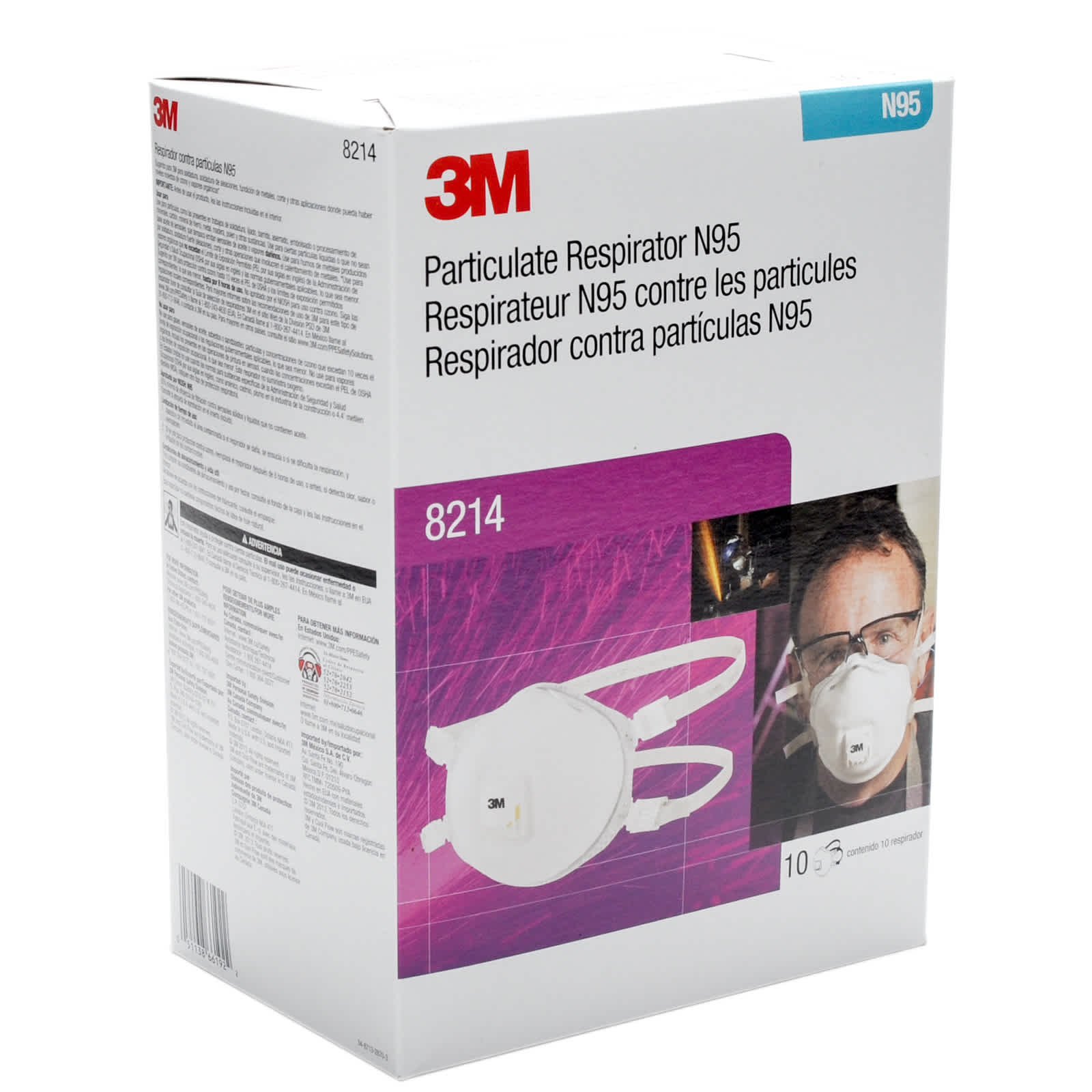 3m n95 mask 8210 expiry date