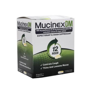 Mucinex Dm Tablet Packets Mfasco Health Safety