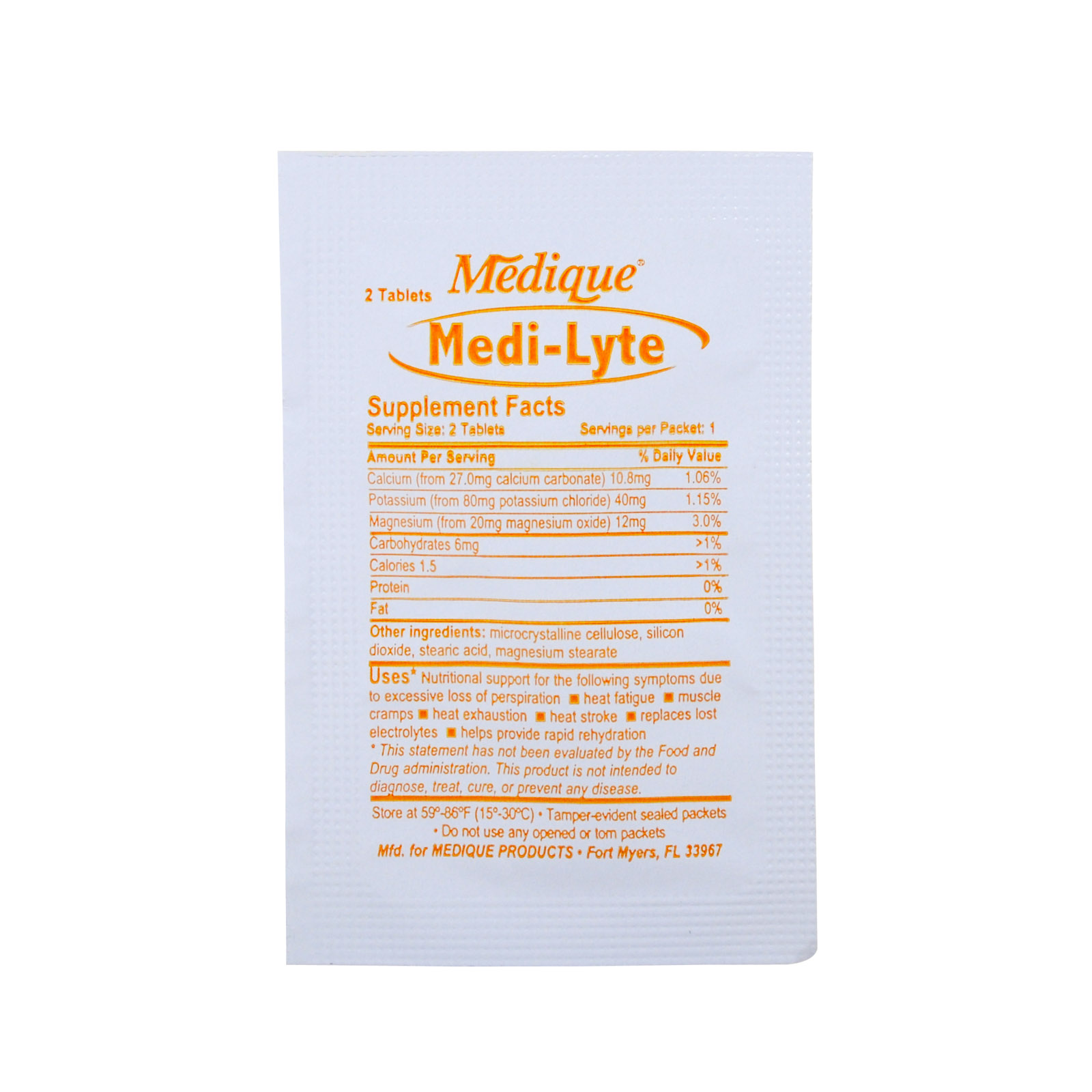 Medi Lyte Electrolyte Replacement 1 Package
