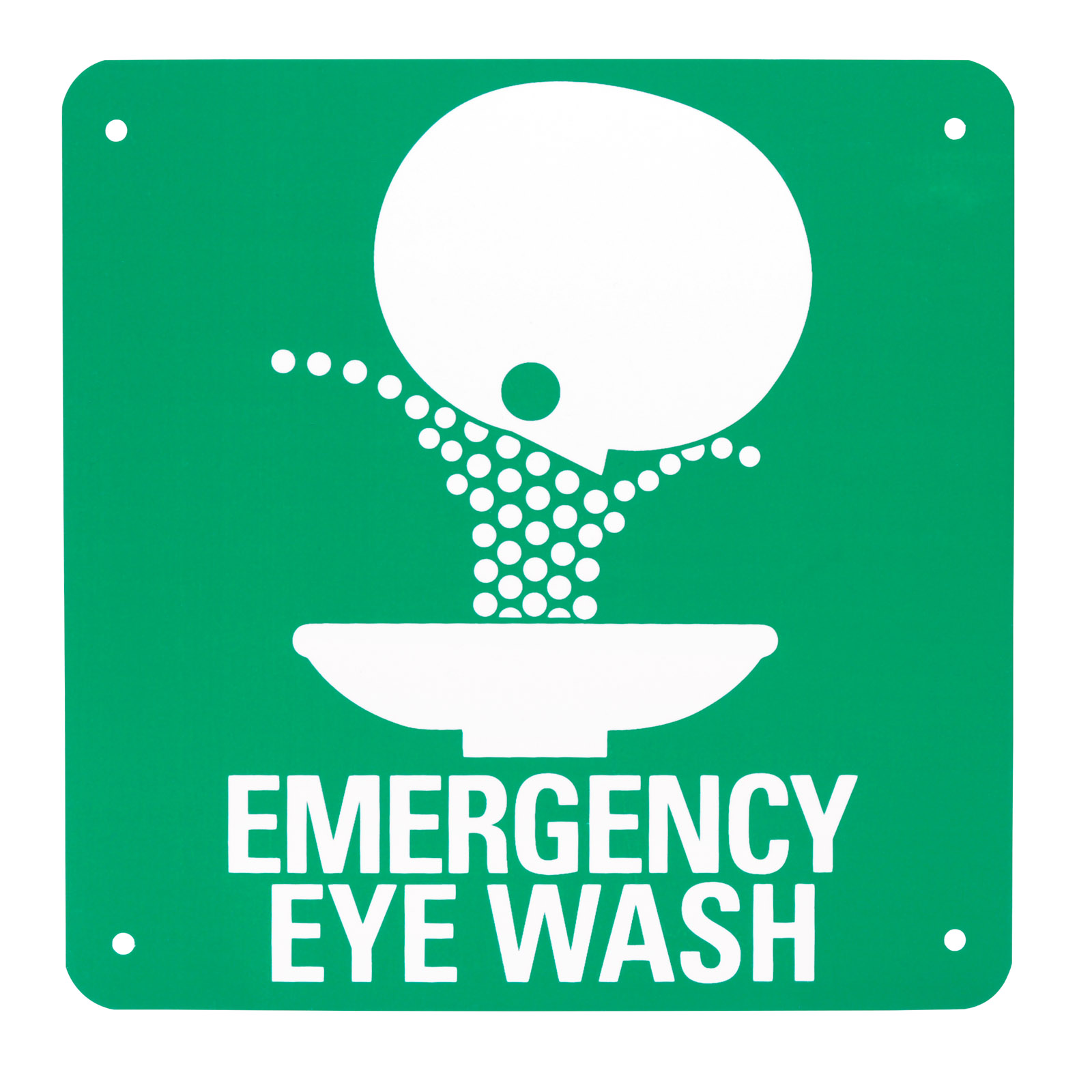 Eye Wash Symbol Safety Sign Mfasco Health Safety