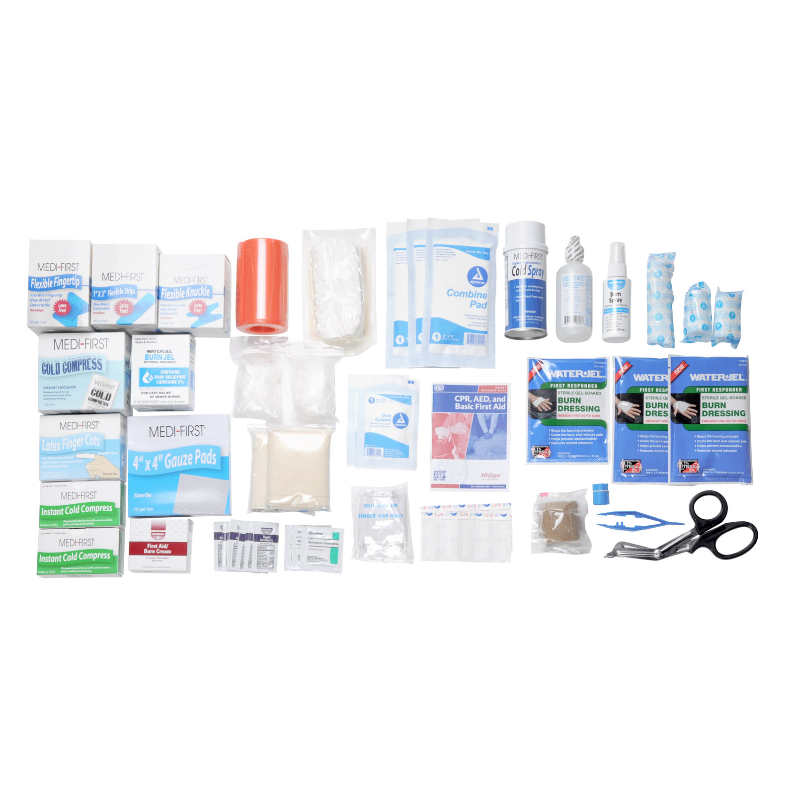 First aid kit refill pack for restaurants for First aid kits for restaurant kitchens