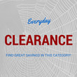 Clearance Items Offer Special Savings