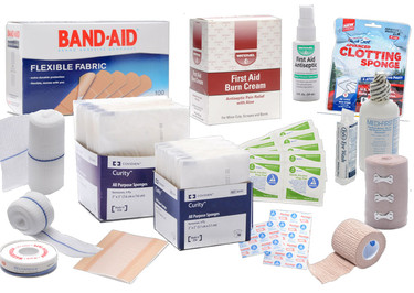 First aid supplies mfasco health safety should have first aid supplies for minor injuries and trauma emergency first aid supplies for major injuries we have put together an example list both publicscrutiny Image collections