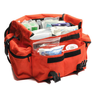Blog - Complete emergency response first aid bag