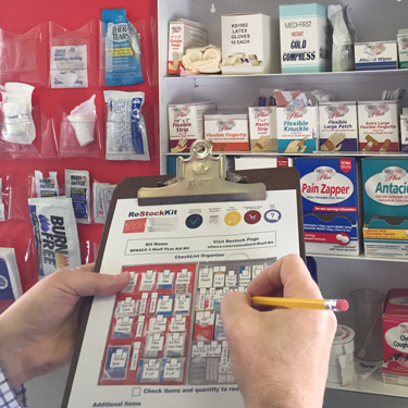 Blog - How to Refill Restock First Aid Kit