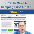 How to make a camping first aid kit - VIDEO