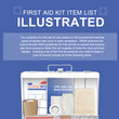 Illustrated First Aid Kit Infographic