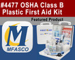OSHA Class B Plastic First Aid Kit - Video