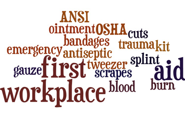 Blog - Workplace First Aid - What supplies do I need