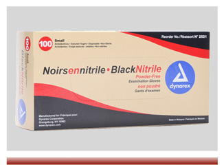 Black Nitrile Gloves On Sale