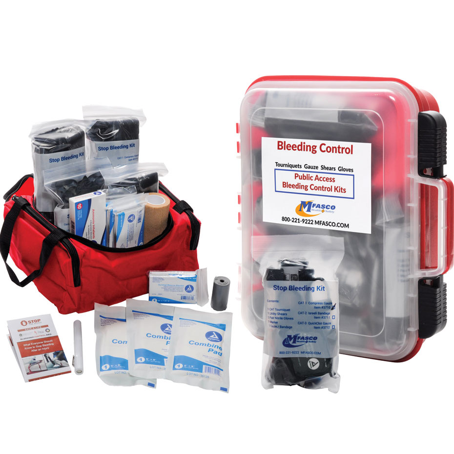 0a7b72d13df0 Select the bleeding control kit that is perfect for you and your  environment and help to save a life.