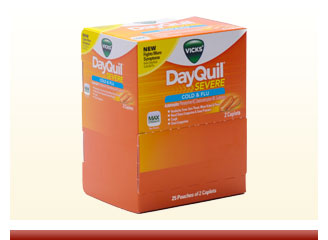 Dayquil severe 25 packets of 2 - On Sale