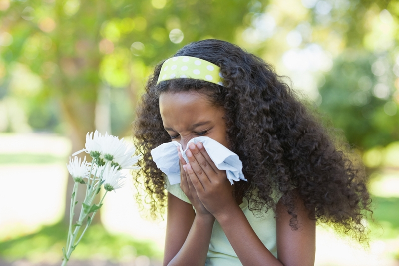 Help kids fight hay fever by packing allergy relief medications in your first-aid kit.