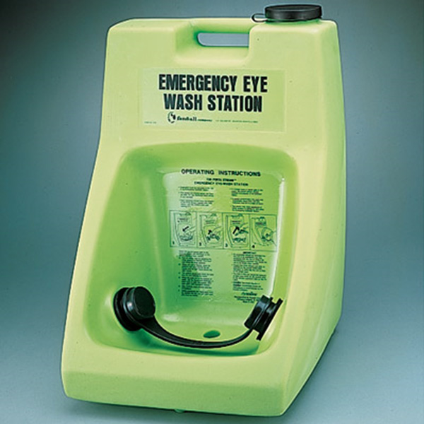 Eye wash stations should be common practice for any facility that uses powerful chemical cleaners.