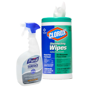 Blog - Cleaners sanitizers disinfectants - whats the differe